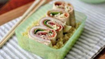 Italian Sushi Roll-Ups
