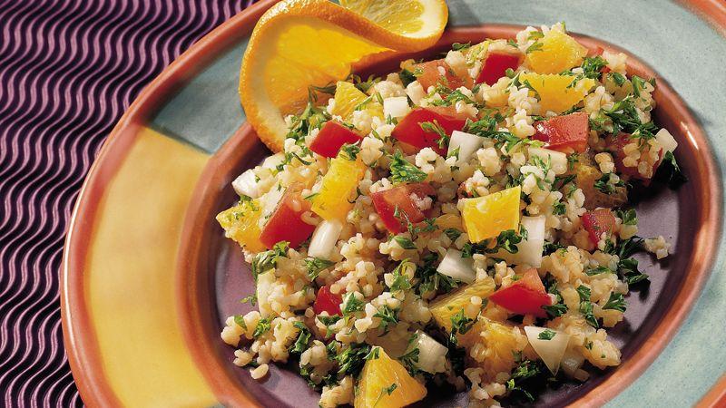 Bulgur and Orange Salad