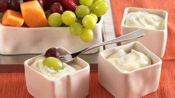5-Minute Creamy Fruit Dip