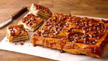 Layered Salted Caramel Bars