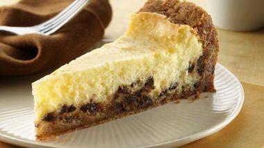 Gluten-Free Chocolate Chip Cookie Cheesecake