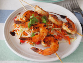 Asian-Style Grilled Shrimp