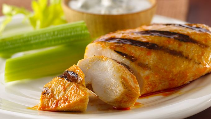 Buffalo-Style Grilled Chicken