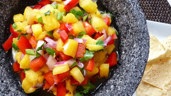 Fast & Fresh Pineapple Salsa