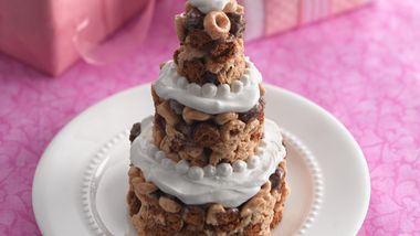 Wedding Shower Cereal Cakes