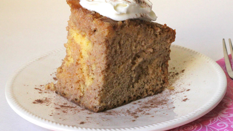 Tres Leches Cake with Chocolate