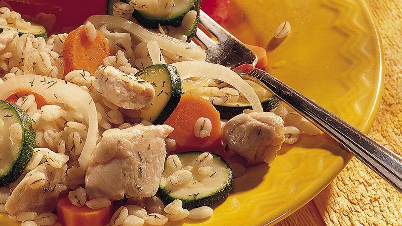 Chicken and Veggies with Bulgur