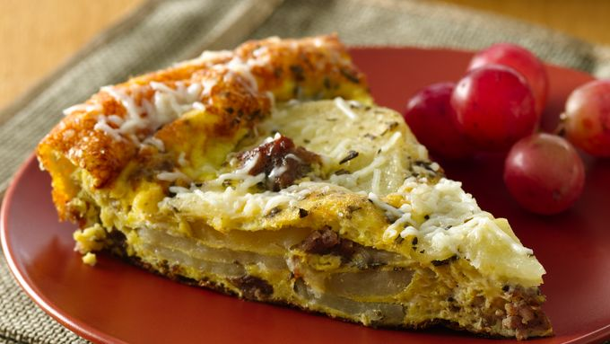 Sausage and Rosemary Potato Frittata