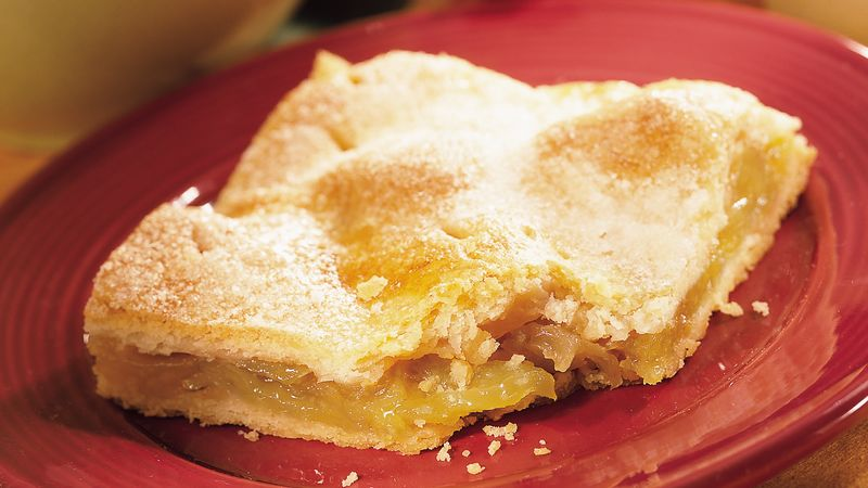 Lemon-Ginger Apple Pie Squares recipe - from Tablespoon!