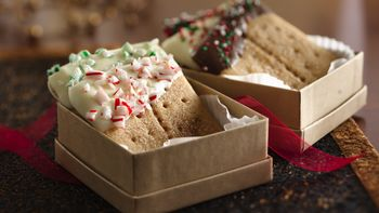 Candy-Topped Graham Cracker Cookie Squares