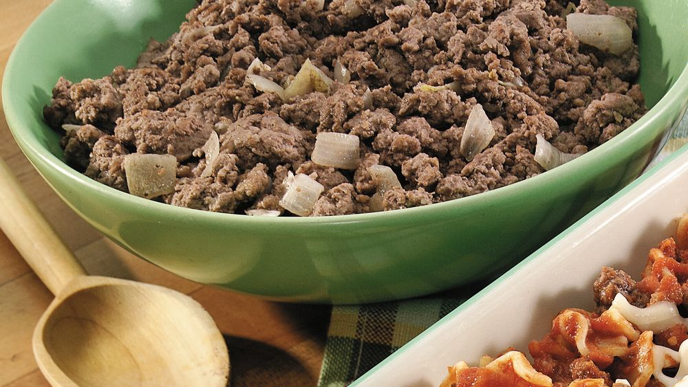 Ready-to-Use Ground Beef