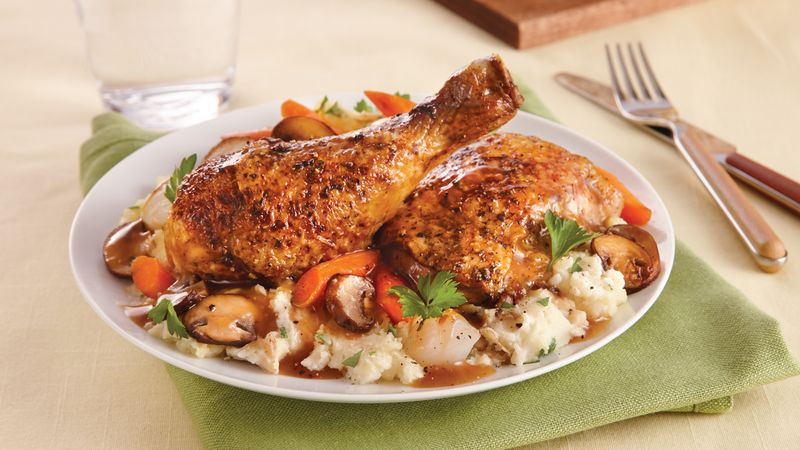 Slow-Cooker Herbed Chicken and Vegetables