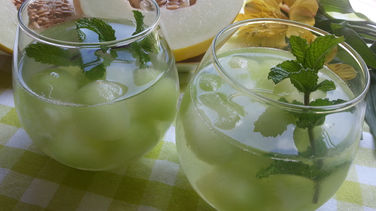 Honeydew and Mint Mojito