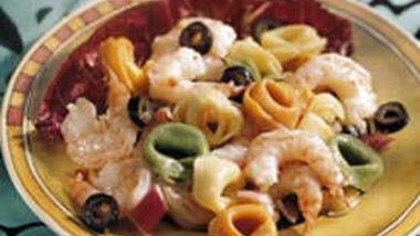 Shrimp Salad Italiano (lighter recipe)