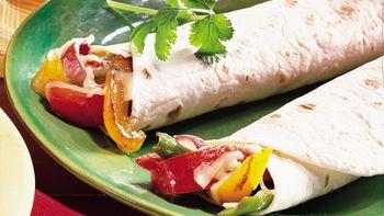 Pepper and Onion Fajitas