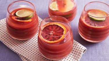 Blood Orange Guava Sangría