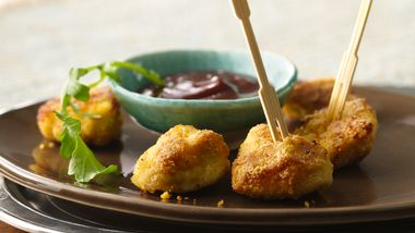 Cornmeal-Coated Chicken Bites