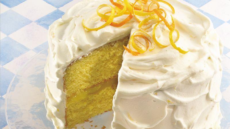 Lemon Supreme Cake Icing Recipe