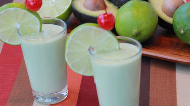 Avocado Colada Shooters