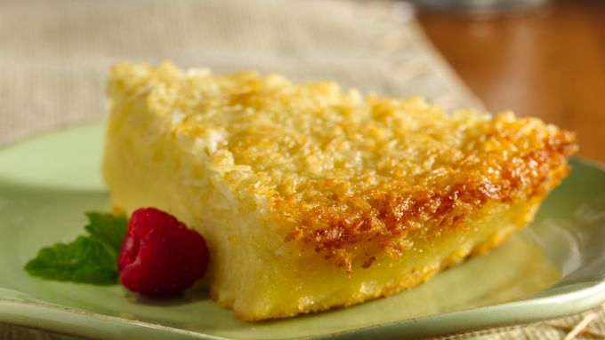 Gluten-Free Impossibly Easy Coconut Pie