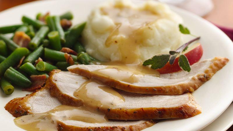 Apple-Sage Brined Turkey Breast