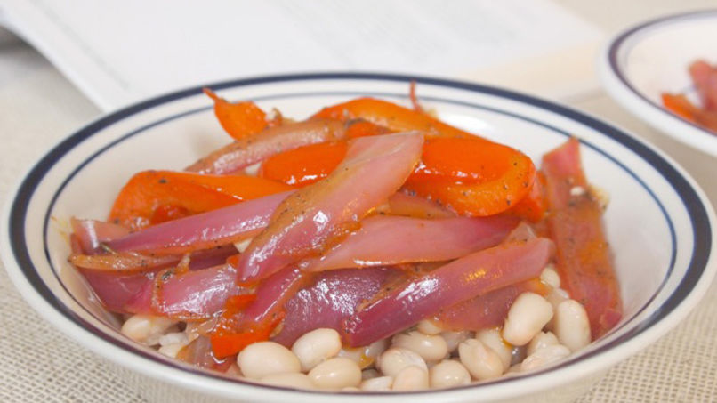 White Bean Escabeche