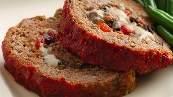 Italian Cheese-Stuffed Meatloaf