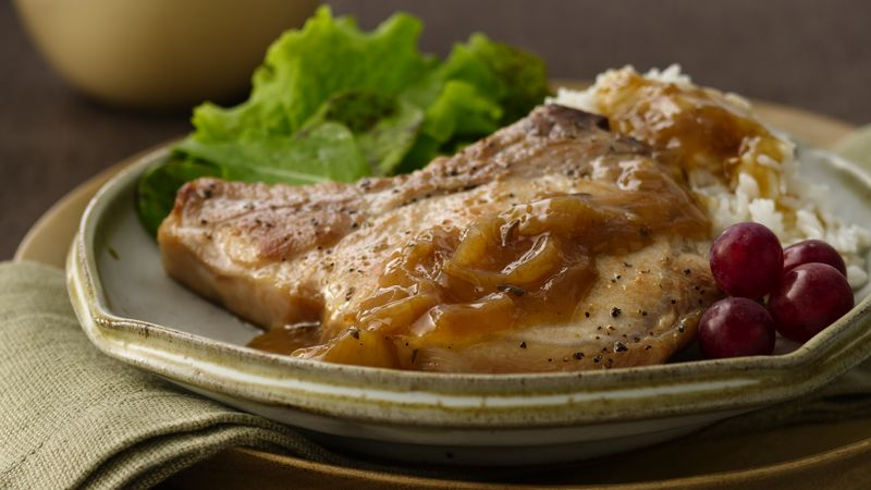 how to make smothered pork chops