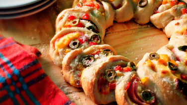 Ham and Cheese Rosca