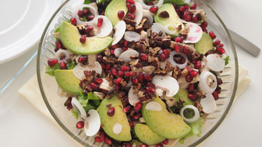 Avocado Pomegranate Chicken Salad