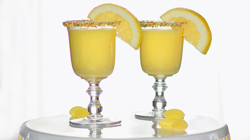 Creamy lemon drop cocktail recipe from tablespoon for Lemon cocktails drinks recipes