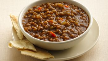 Slow-Cooker Brown Lentil Soup