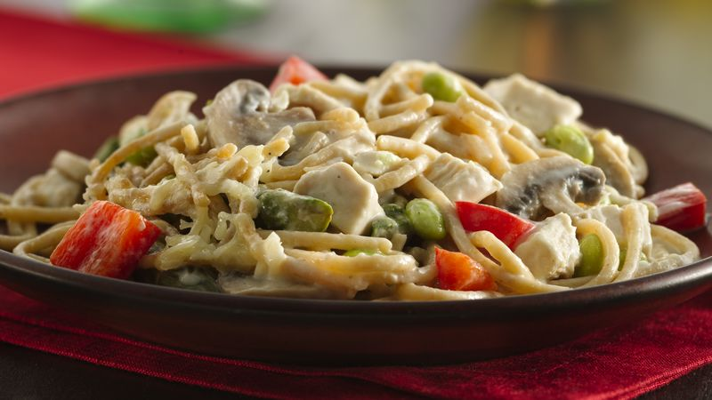 Chicken-Vegetable Tetrazzini