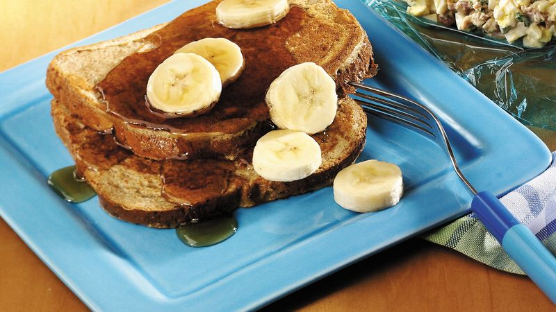 Grilled Banana Toast