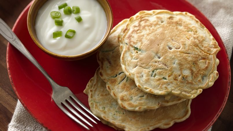 Chopped Vegetable Pancakes