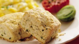 Parmesan Basil Biscuits Recipe Bettycrocker Com
