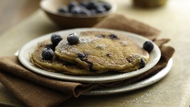 Blueberry-Bran Pancakes