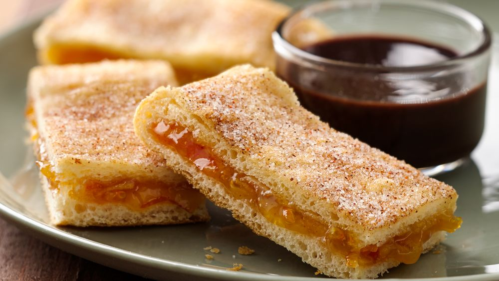 Spicy Churro Crescent Bites