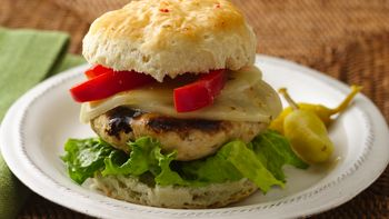 Zesty Italian Turkey Burgers