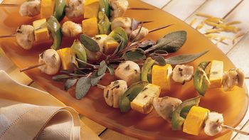 Maple-Glazed Chicken Kabobs