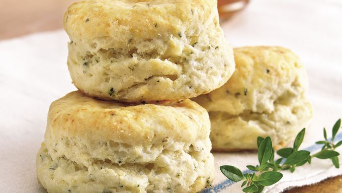Buttermilk-Herb Biscuits