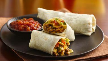 Crunchy Taco Burritos