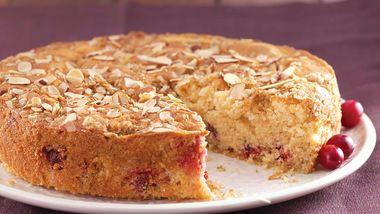 Cranberry-Almond Coffee Cake