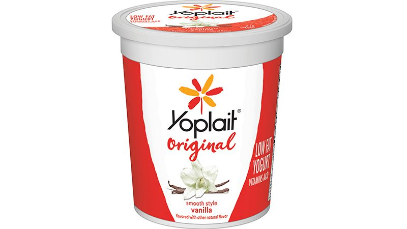 Yogurt Bulk Tub Low Fat Vanilla 32 oz
