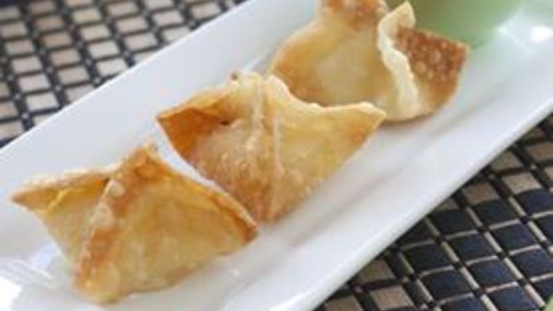Scallop Rangoon (Chinese Dumplings)