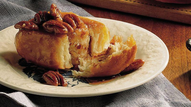 Caramel-Pecan Sticky Rolls (lighter recipe)