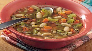 Easy Italian White Bean Soup