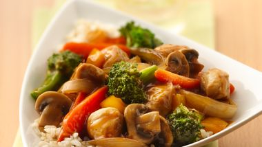 Summer Garden Chicken Stir-Fry