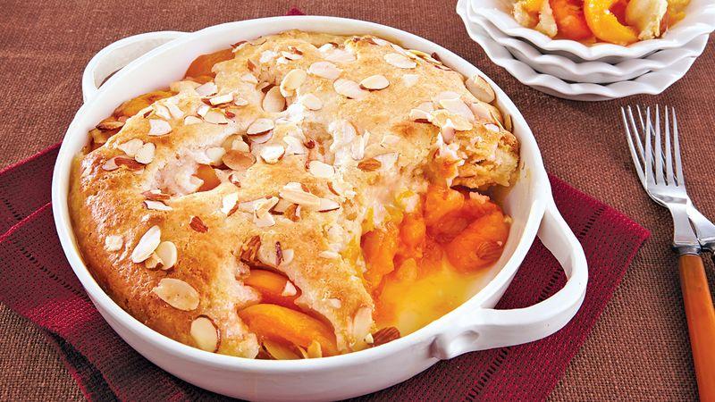 Apricot-Almond Cobbler