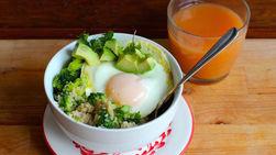 Quinoa and Veggies Breakfast Bowl